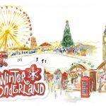 invitacion boda winter wornderland
