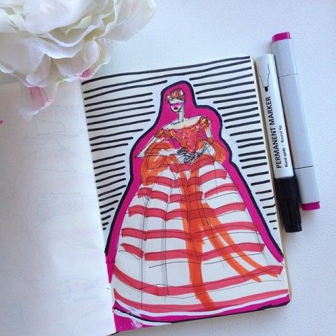 ilustración de moda- fashion illustration