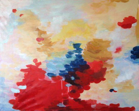 Peculiar Way 2 100x80cm Elena Calonje Acrilico sobre lienzo