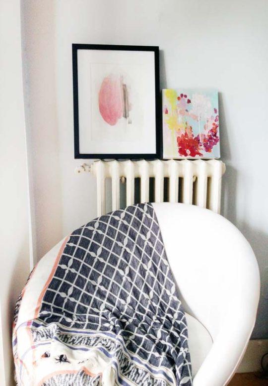 Recordando obra abstracta 22x27cm de Elena Calonje