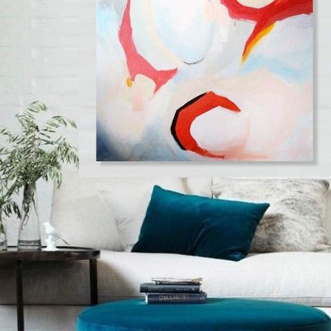 Abstract paintings by elena Calonje
