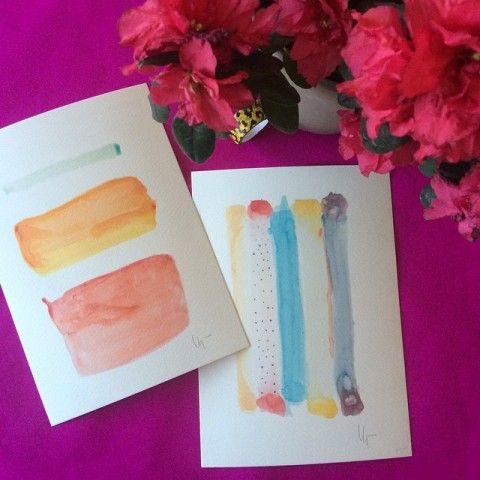 abstract watercolor prints elena calonje