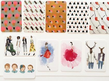 New fashion and pattern business cards