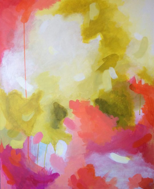 Focus, 80x100 cm Abstract art by Elena Calonje